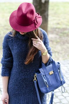 The Hat   #hat #redhat #accessories #woolhat