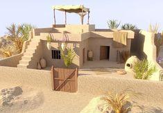 - Minecraft World Minecraft Desert House, Casa Medieval Minecraft, Village House Design, Village Houses, Minecraft Projects, Minecraft Designs, Pueblo House, Ancient Egyptian Architecture, House 3d Model
