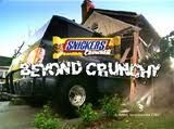 Snickers crunche car