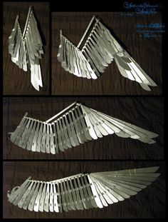 mechanical bird wing folding - Google Search