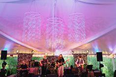 Merrimon Wynne House Wedding - Bubble Wedding Chandelier - Brett & Jessica Photography - NC Wedding Planner Orangerie Events
