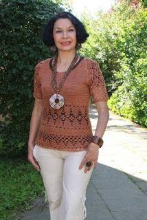 Tina's handicraft : blouses crochet by Irina Horn