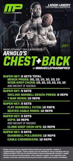 Muscle Pharm Chest / Back