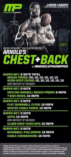Muscle Pharm  Chest / Back