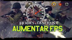 Heroes & Generals Como aumentar tus FPS y el rendimiento