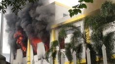 Factories burnt in Vietnam anti-China protest