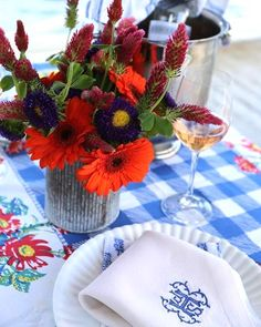 Spring Table Settings To Recreate
