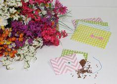 Lovely spring DIY envelopes. Templates provided.
