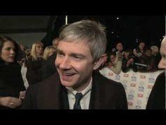 Martin Freeman on working with Benedict Cumberbatch - YouTube