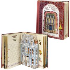 pop up book doll's house?