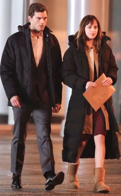 S&M from Fifty Shades of Grey: Behind-the-Scenes Pics | E! Online