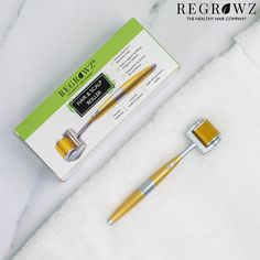 Meet our New essential Hair & Scalp roller which is suitable for both Men and Women and will promote the efficacy and absorption of Regrowz hair treatment products when used just prior to their application. #regrowz #dermaroller #scalp #haircare #hairfall Natural Hair Regrowth, Natural Hair Styles, Derma Roller, Hair Scalp, Fall Hair, Hair Growth, Meet, Products, Women