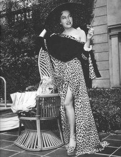 Gloria Swanson in Sunset Boulevard 1950