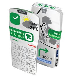 Nokia GEM design by  Jarkko Saunamaki et al.  Totally sweet.