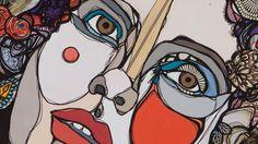 Un portrait intime de l'artiste Adèle Blais qui n'hésite plus à raconter son histoire à la fois empreinte de mélancolie et de messages forts donnant à ses tableaux une signature unique.