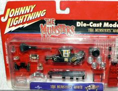 """Johnny Lightning """"The Munsters Koach"""" Die-Cast Model Kit by Playing Mantis. $14.95. Die-Cast Model Kit.. 1:64 scale model kit for the famous television show """"The Munsters"""". Issued in 2001."""