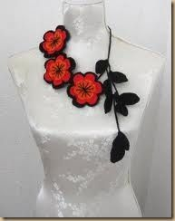 Lots of crochet necklace inspiration