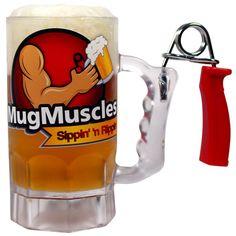 Hand Grip Exerciser Beer Mug / TechNews24h.com