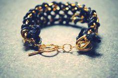 DIY: Double Chain Bracelet
