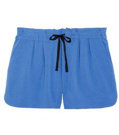 Ivette crepe shorts by Rag
