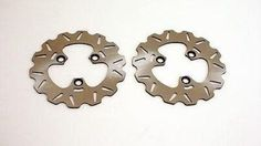 2001 - 2005 Honda Sportrax 250 TRX250EX Front RipTide Brake Rotor Disc x2, stainless steel