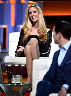 Ann Coulter onstage at the Comedy Central Roast of Rob Lowe (Getty Images)
