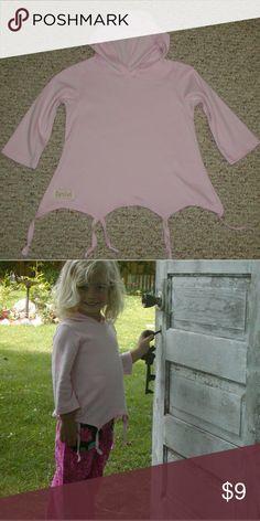NWOTPink T-shirt hoodie long sleeve Handmade pink T-shirt hoodie sleeve by 4 handmade Shirts & Tops Sweatshirts & Hoodies