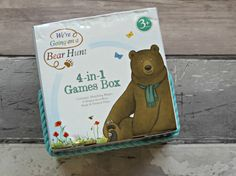 One story that all three boys have always loved is 'We're Going on a Bear Hunt'. I bought a special edition of the...