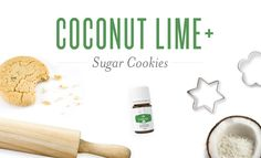 Coconut Lime+ Sugar Cookies | Young Living Canada Blog