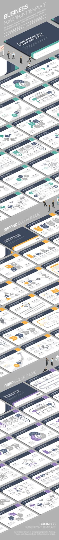 Business Powerpoint Template 003 - Business PowerPoint Templates