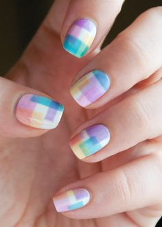 Cute and colorful nail art