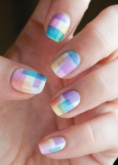 Cute and colorful nail art