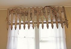 Itsy Bits and Pieces: End of the Tour- The Bachman's 2013 Spring Ideas House... #upcycle #fence #window