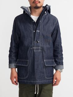 AW 2014 Must Have - Japan's THE REAL MCCOY'S US Navy Denim Parka