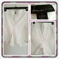 Woman's White Shorts Size 26W  Woman's White Shorts From Lane Bryant Size Is 26W. These Were Worn And Washed But I Don't See Anything Wrong With Them  TRADES  PAYPAL  OFFERS AT THIS TIME PRICE IS FINAL   Lane Bryant Shorts