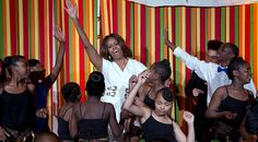 Newsela | First lady stresses arts in schools at White House talent show