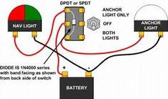 boat wiring diagram boat pinterest diagram boating and john boats rh pinterest com Boat Battery Switch Wiring Diagram Marine Battery Wiring