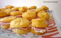 Mini burger jambon boursin