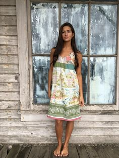 Molly dress-xsmall small-artsy-Eco Clothing-Upcycled