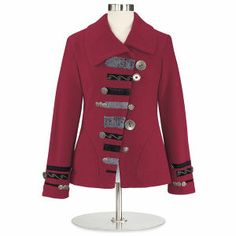 Boiled Wool Boutique Jacket - Women's Clothing, Jewelry, Fashion Accessories and Gifts for Women with a Flair of the Outdoors | NorthStyle