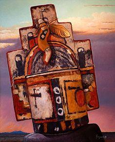 Kachina Paintings by John Farnsworth  kK