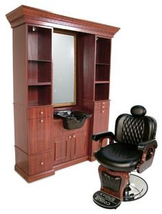 Barber chair / shampoo sink setup http://www.hairstylersfriend.com/images/products/detail/products_8799060.jpg