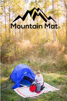 Recycled Polypropylene Mats -- perfect for camping. Color shown: Sunset Orange (reverse side) Size: x Carry Bag Included Best Camping Gear, Camping Ideas, Camping Stove, Camping Mats, Emergency First Aid Kit, Picnic Spot, Adventure Activities, Carry On Bag, Animals For Kids