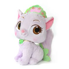Amazon.com: Disney Princess Palace Pets Tiana's Kitty Lily Large Plush Toy: Toys & Games