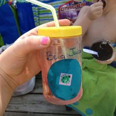Crafts With Empty Kool Aid Containers