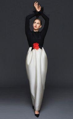 Audrey Hepburn's granddaughter Emma Ferrer in 2014 September Harper's Bazaar US, photographed by Michael Avedon, Richard Avedon's grandson, and so it goes on