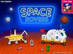 Space Rovers | Weltraumfahrzeuge App | Kinder Apps | iPad iPhone