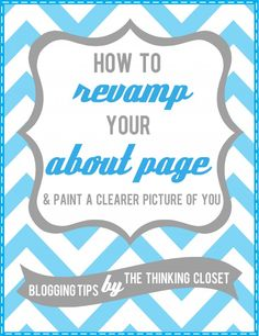 How to Revamp Your About Page