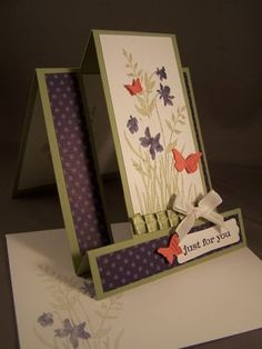 Center Step Cards-They are easier to make than they look