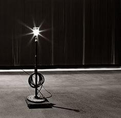 Ever wonder why we leave the ghost light on? Find out from Broadway Spotted